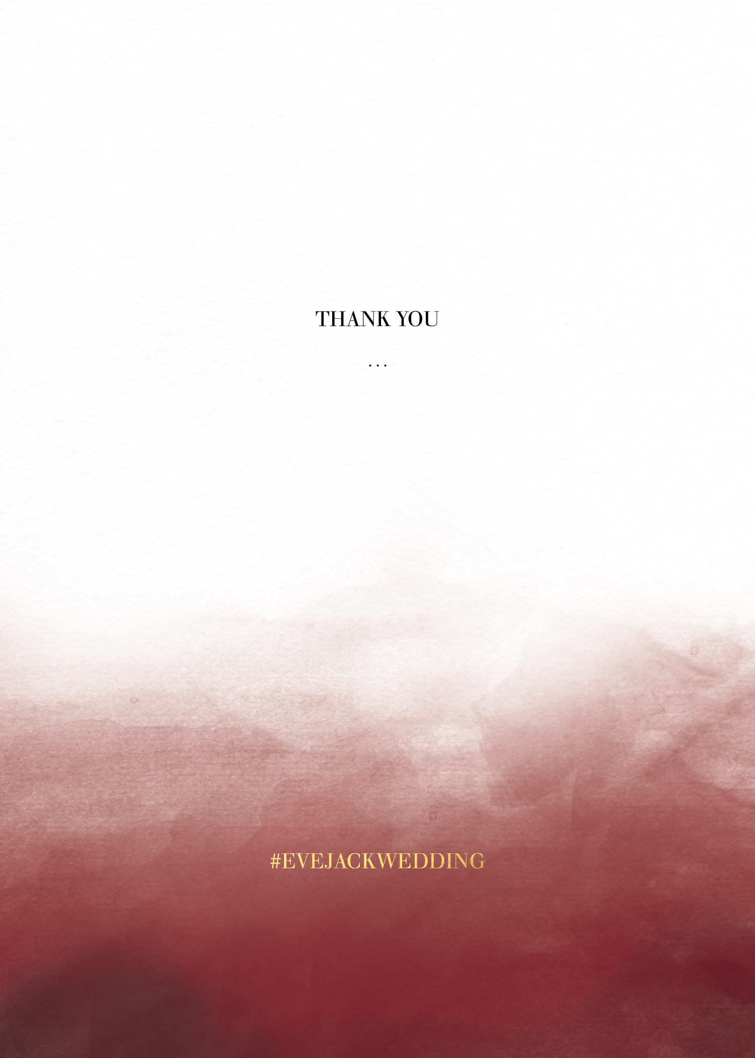 Maroon Love - Thank You