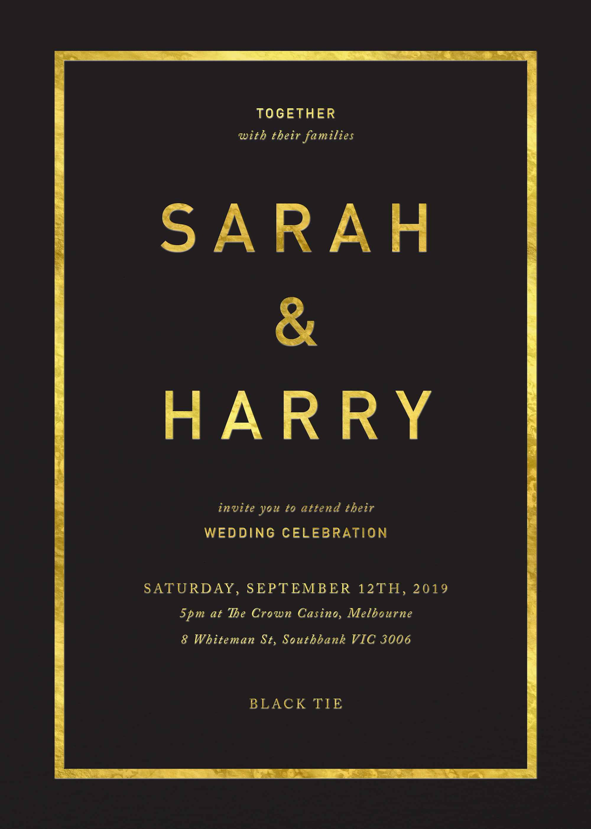 Crown - Wedding Invitations