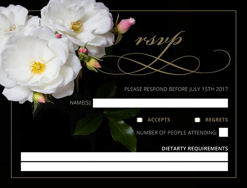 White Roses - RSVP