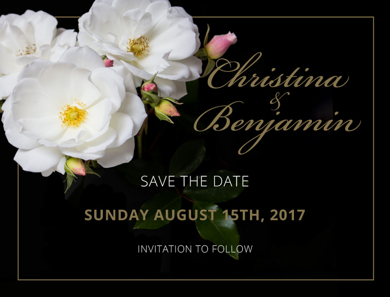 White Roses - Save The Date