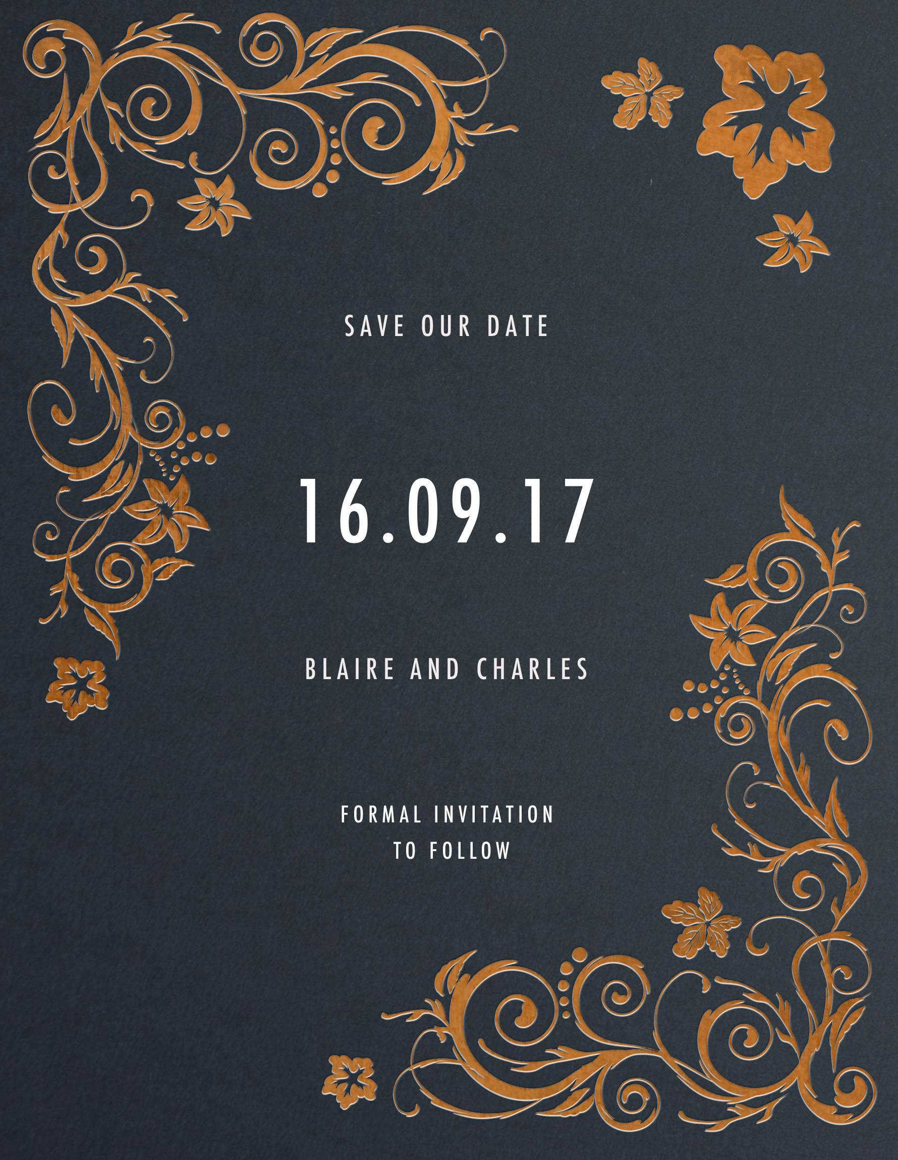 Blue Copper - Save The Date