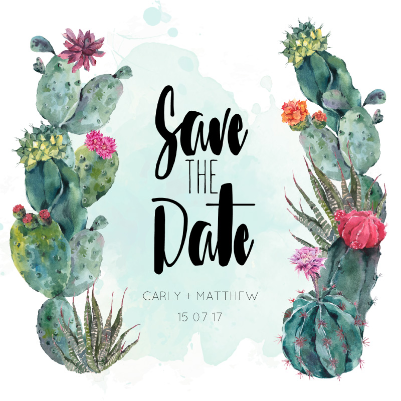 Cactus Hour - Save The Date