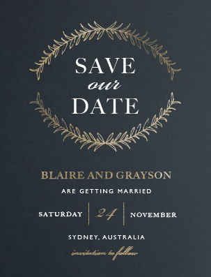 Forever Framed - Save The Date