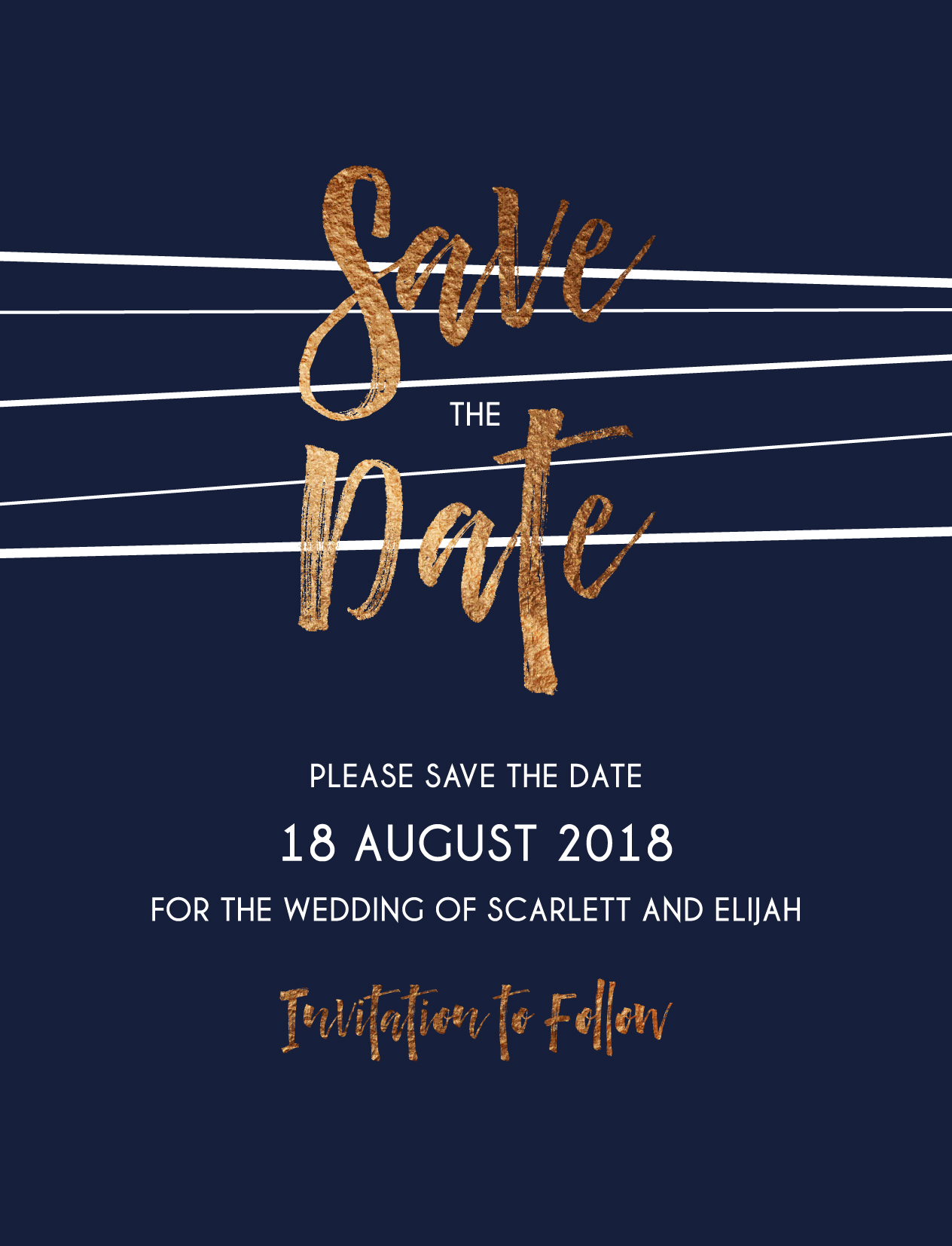 Love Lines - Save The Date