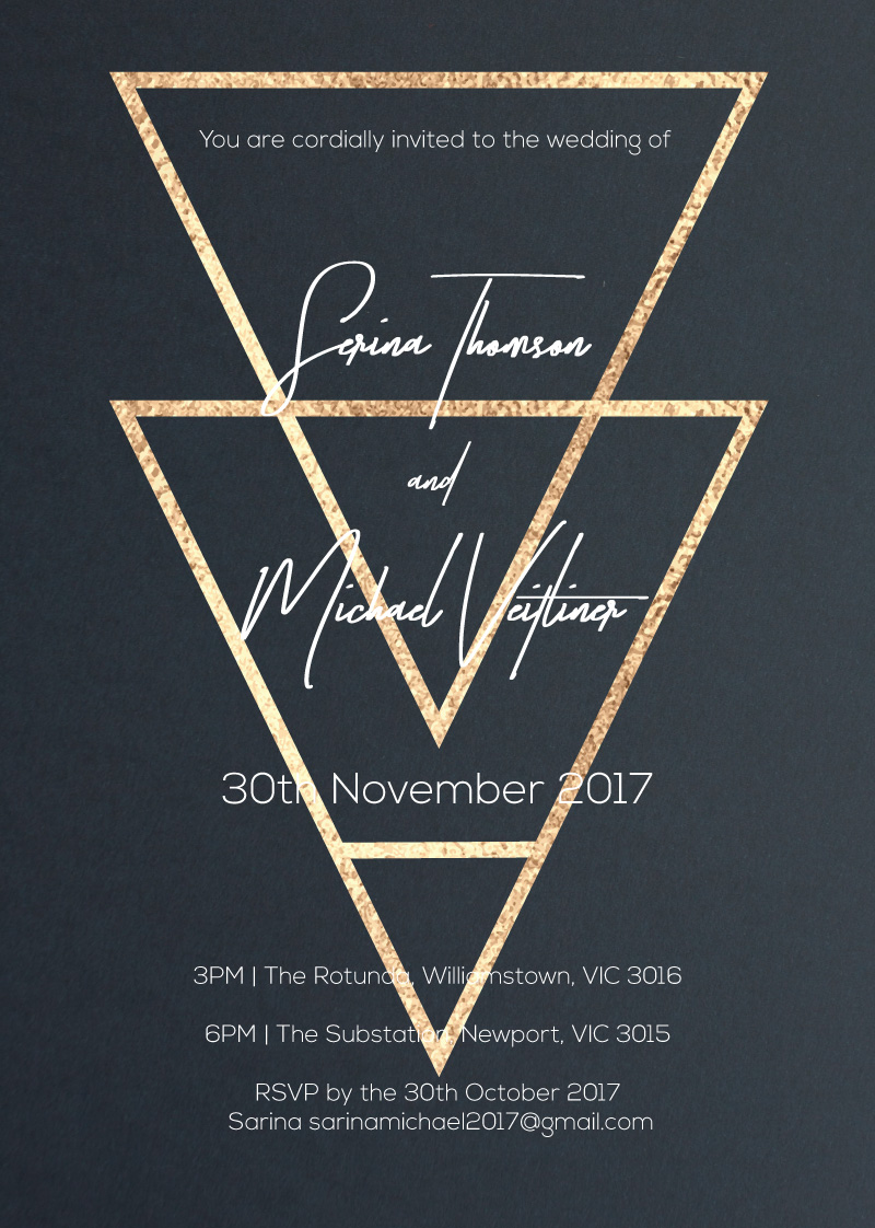 Veltliner - Wedding Invitations