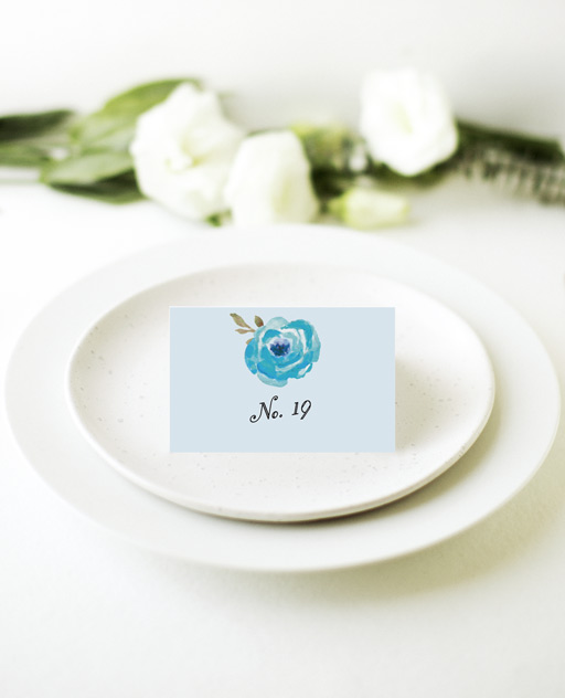 Love Me Tender - Place card 1