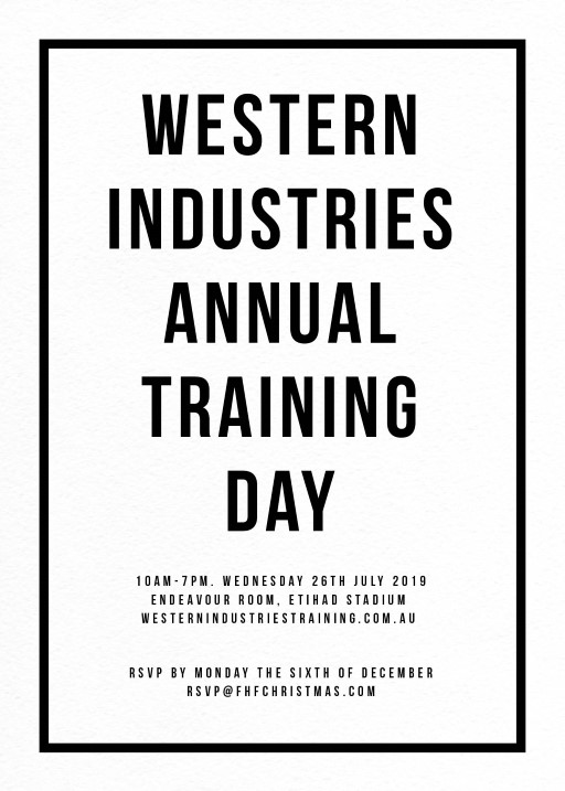 Fabulous - corporate event invitations