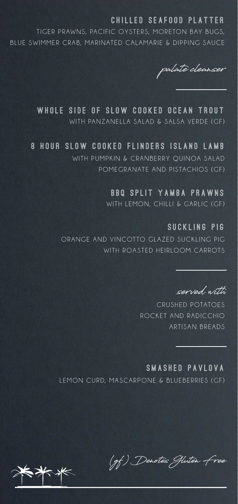 Watsons Bay Hotel - Menu