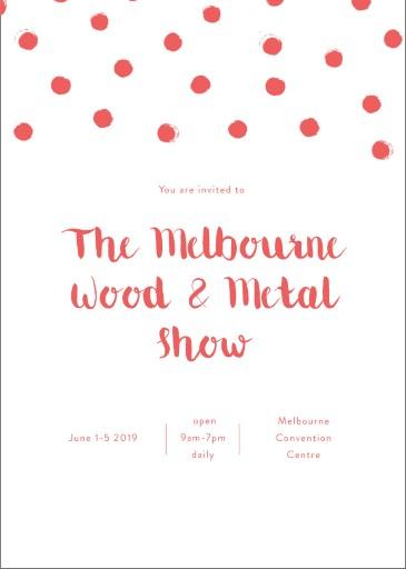 Spot - corporate event invitations