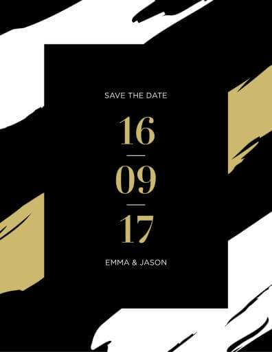 Poised Save The Date - Save The Date