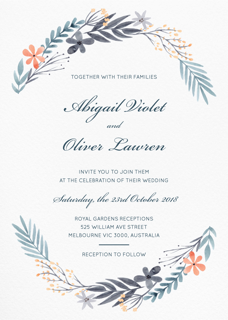 Great Dixter - Wedding Invitations