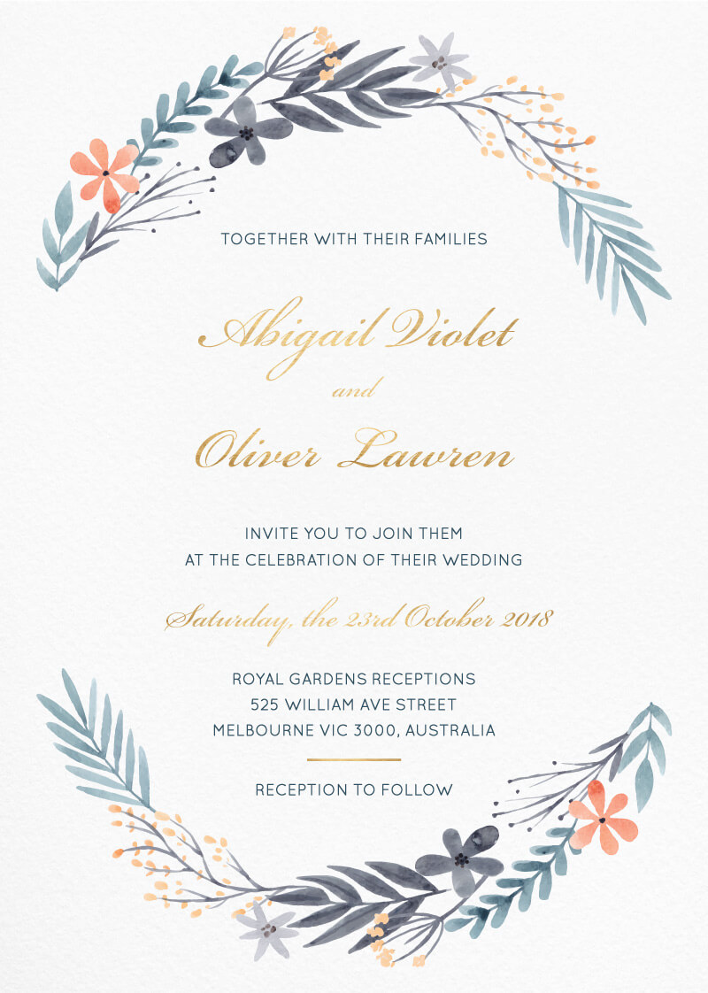 Great Dixter - Wedding Invitations