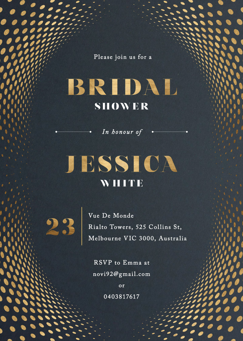 Bridal and Shine - Bridal Shower Invitations