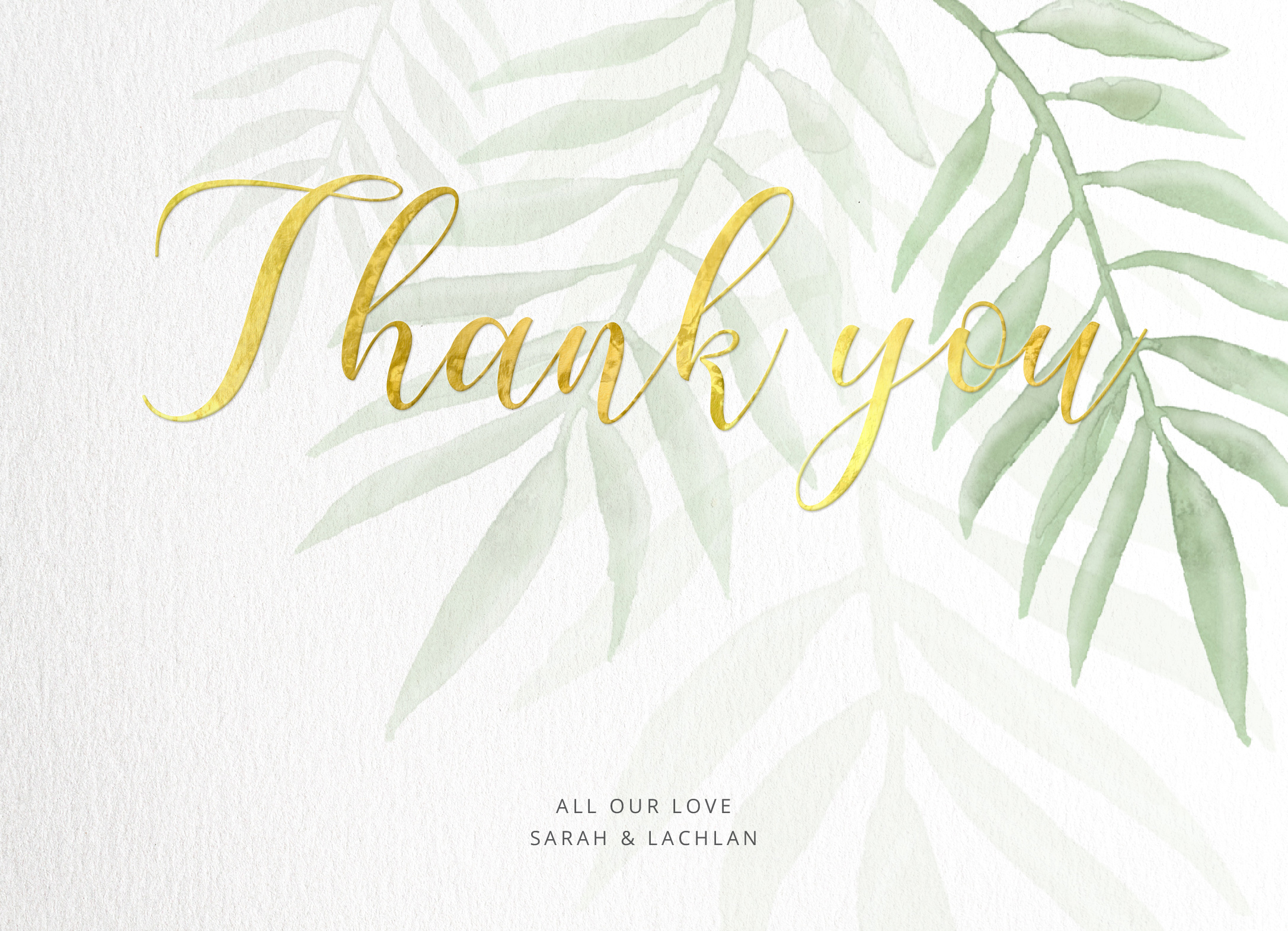 Forest Walk - Thank You