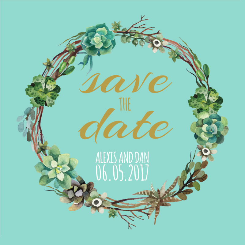 Succulence - Save the Date 2