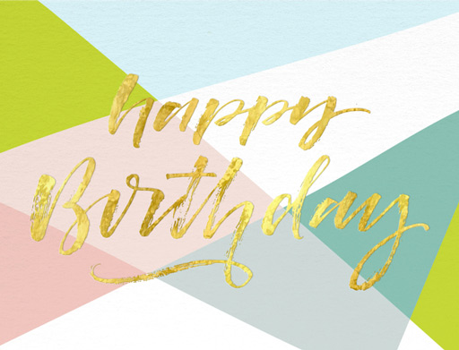Birthday Pattern - birthday cards