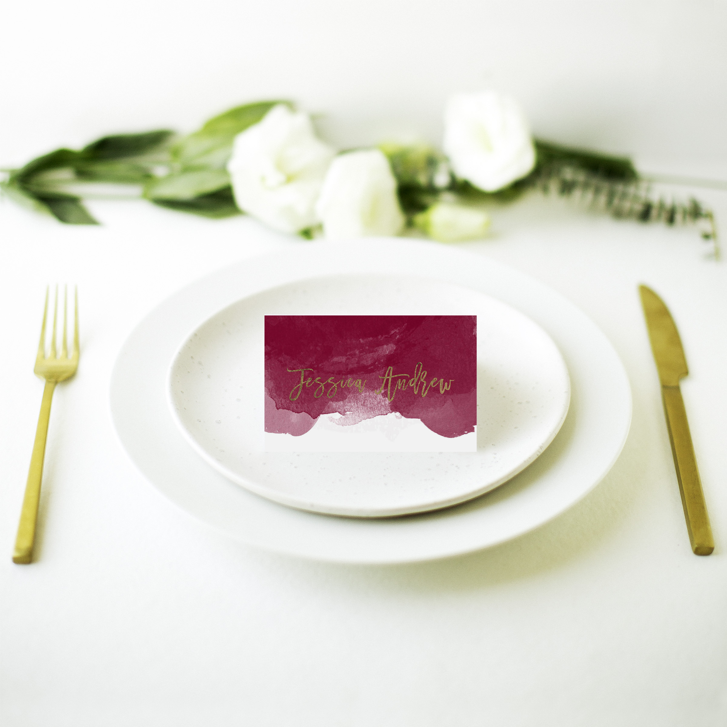 Be Our Guest - Place Cards