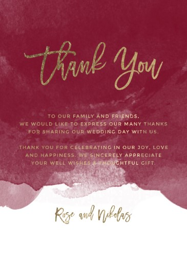 Be Our Guest - Thank You Cards