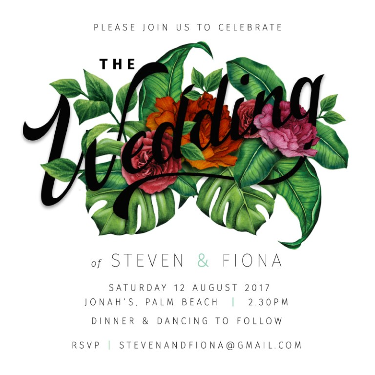 Botanica Wedding Invitations - wedding invitations