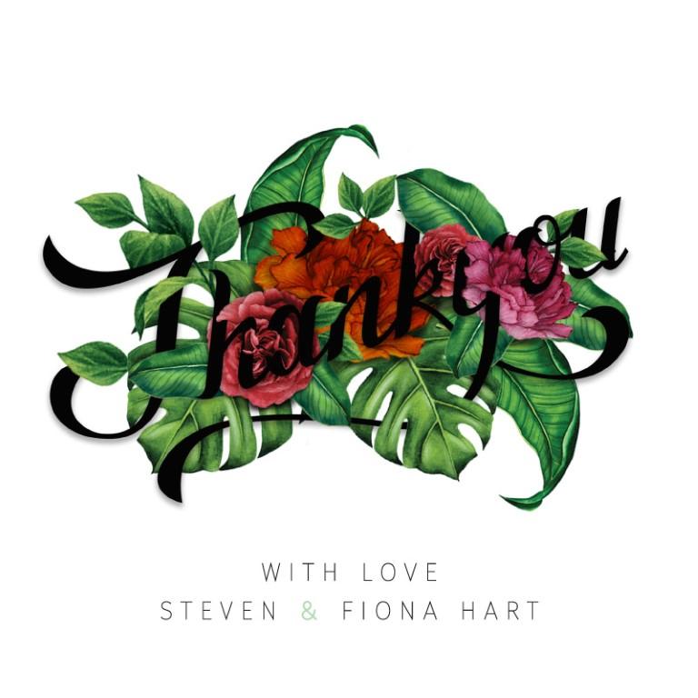 Botanica - Thank You Cards