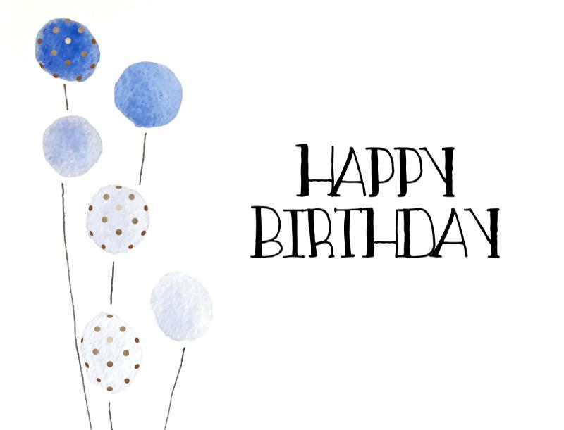 Eat until you pop - Birthday