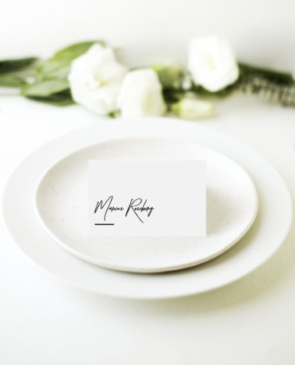 The BWM - Place Cards