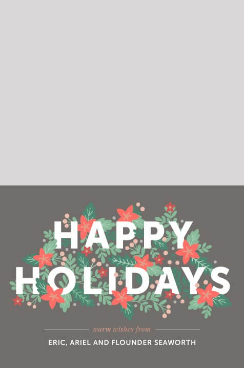 Happy Holidays - christmas cards