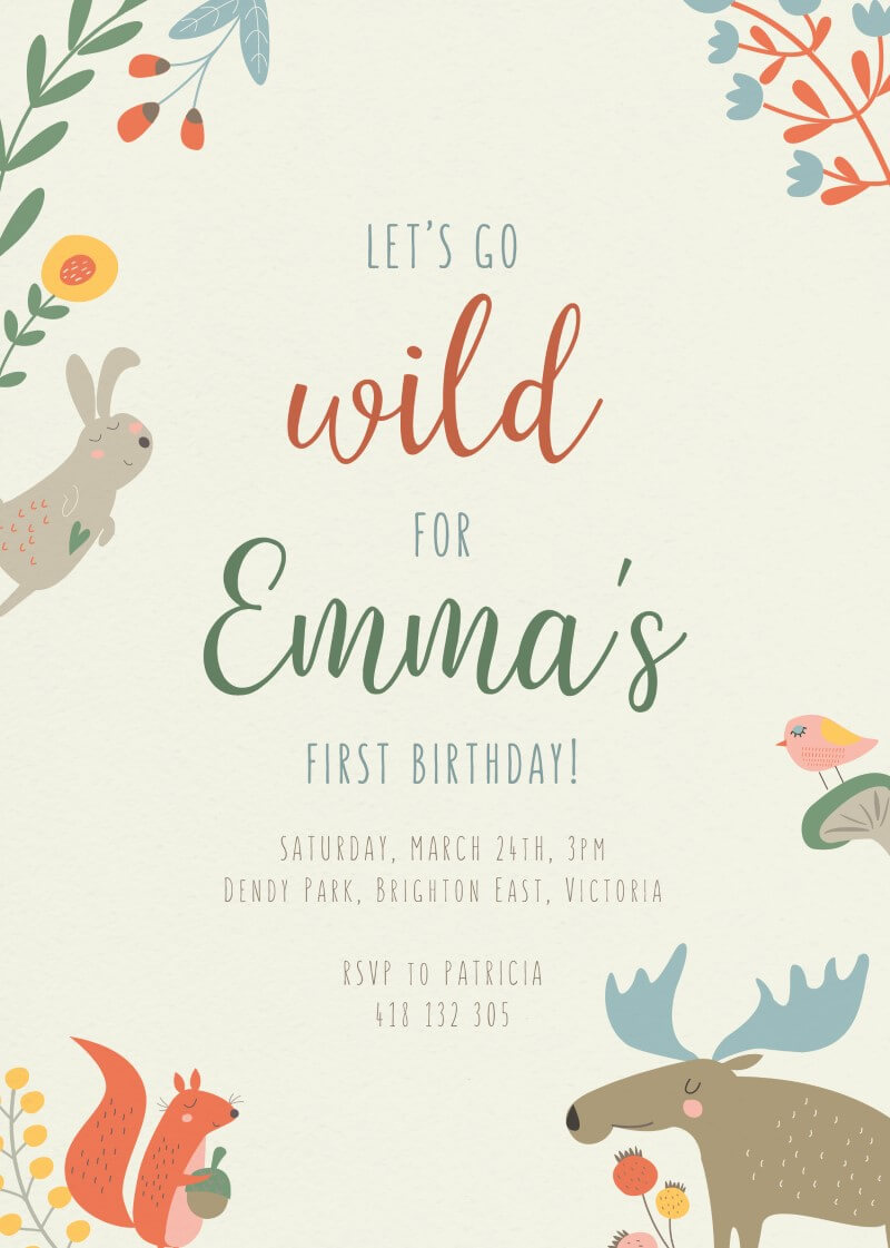 Animal's Party - Birthday