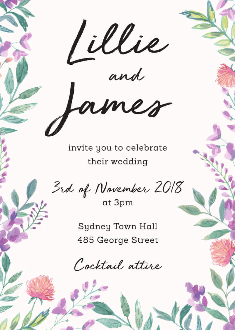 Tuscany - Wedding Invitations