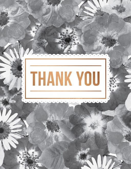 Spring Collection - Thank You Cards