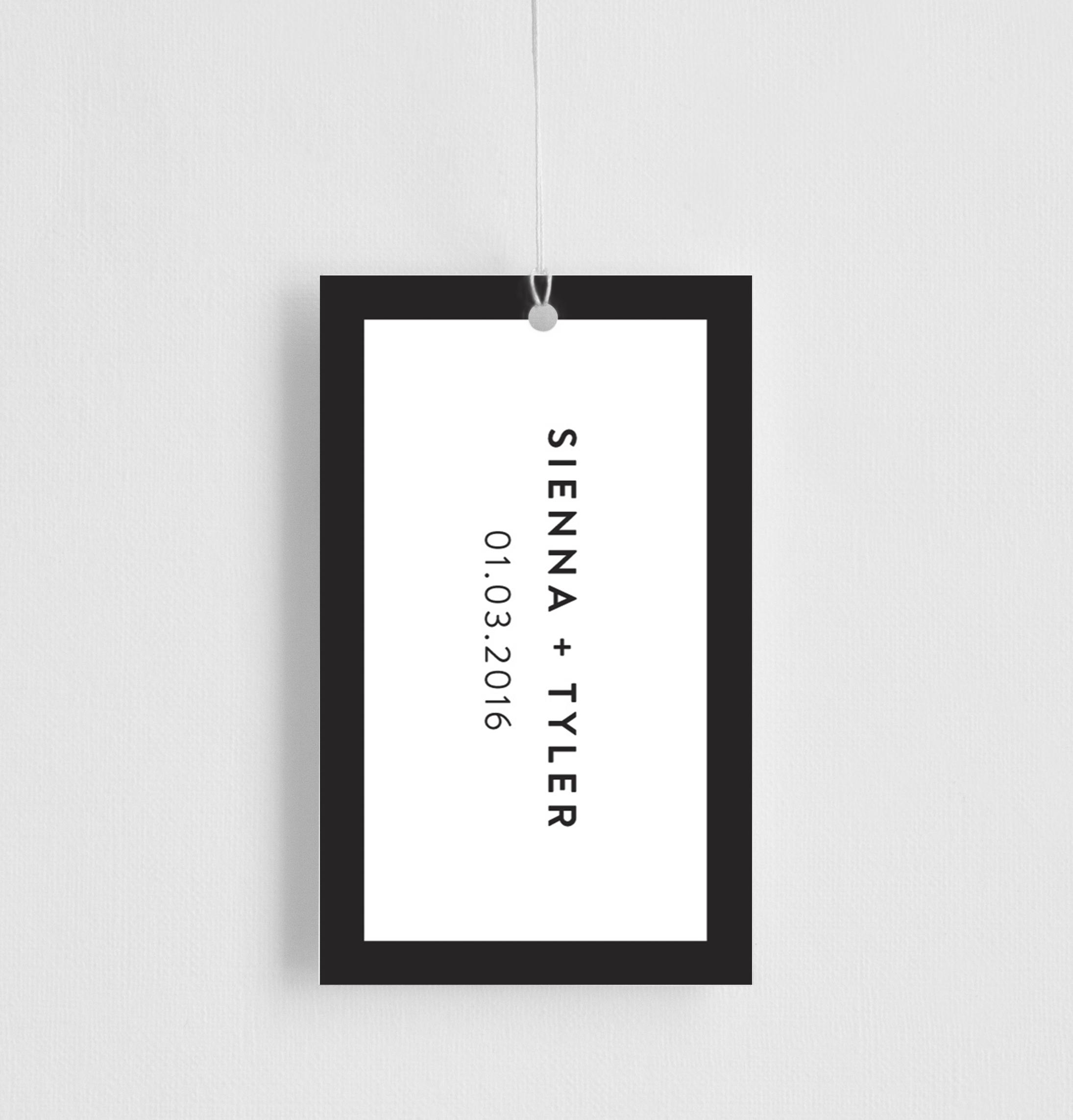 Minimal - Gift Tags
