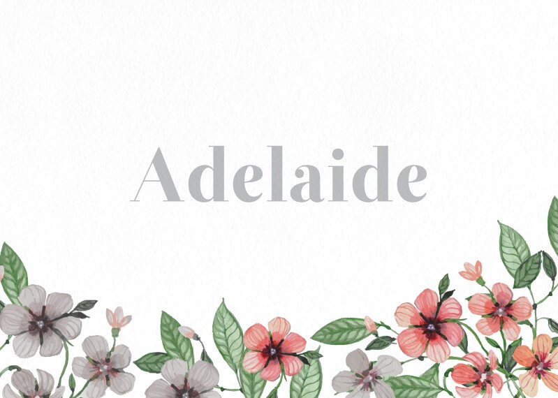 Floral Circle Invitation Set - Table Numbers