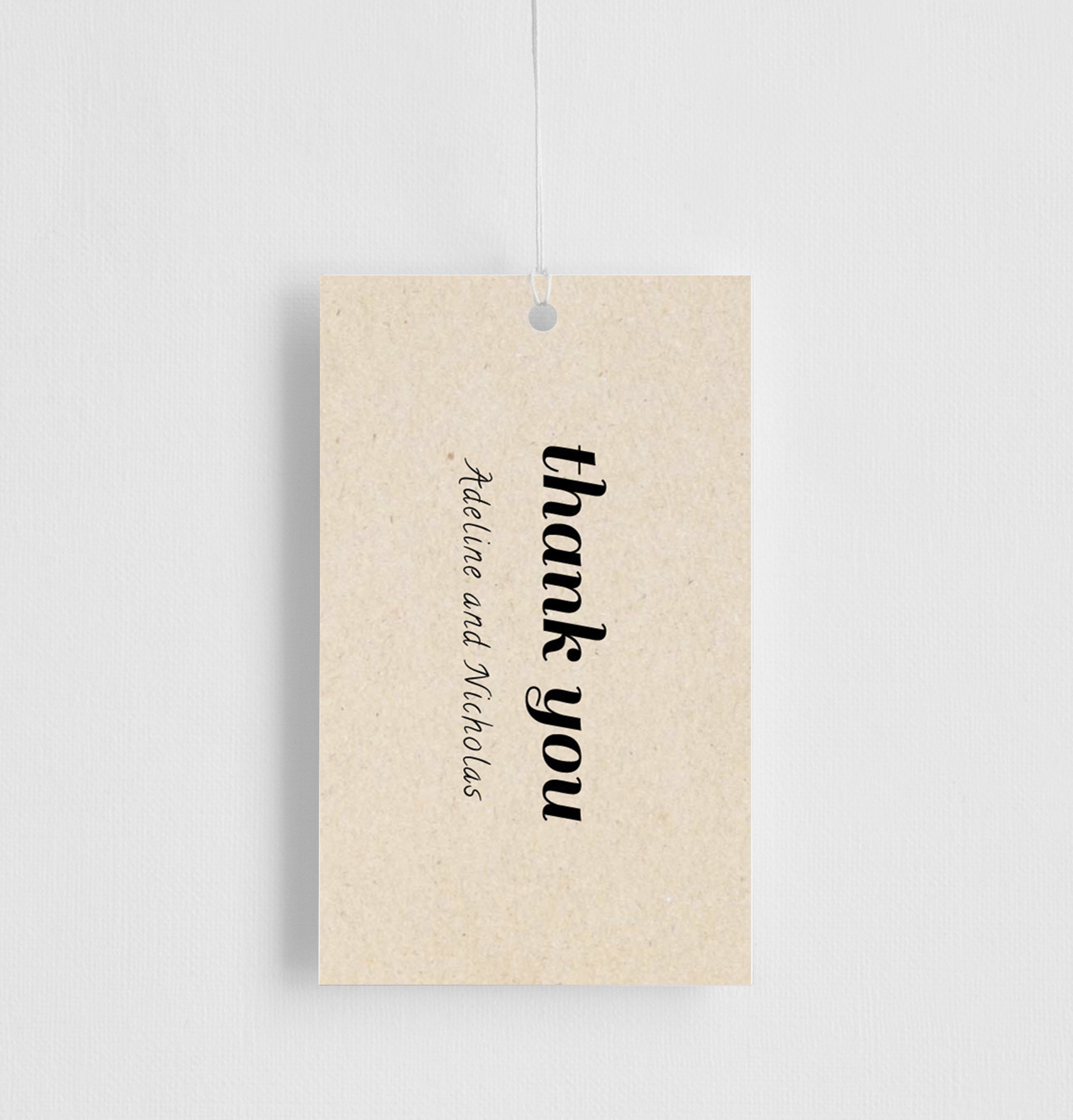 Rustic - Gift Tags
