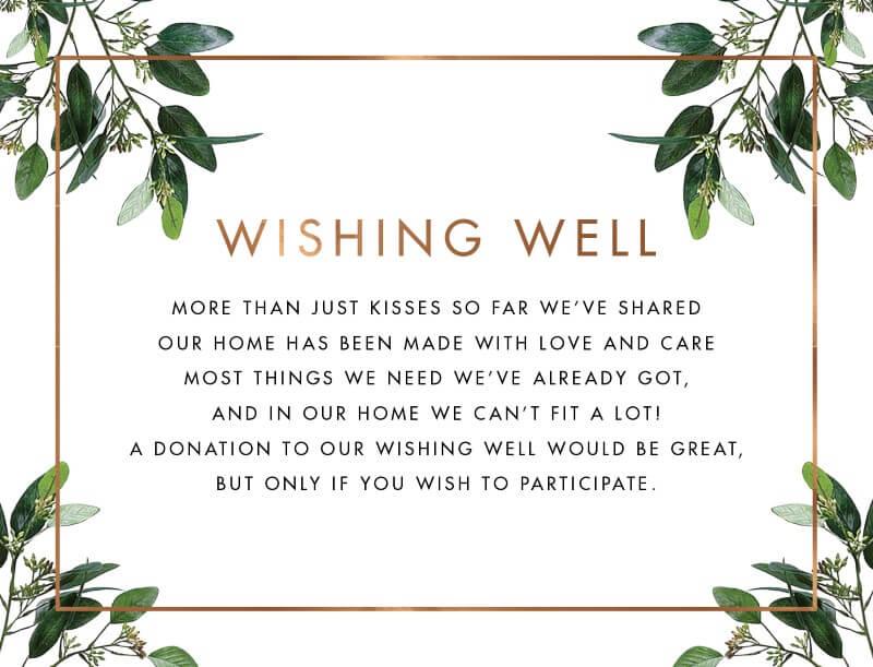 Garden Estate - Wishing Well