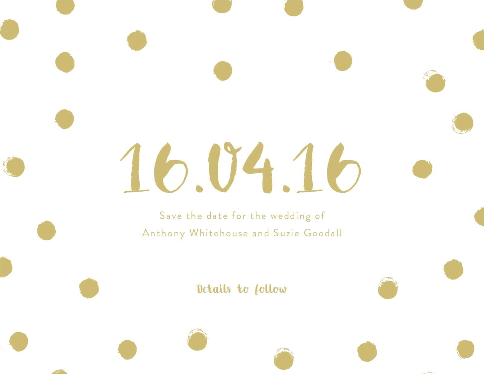 Spot - Save The Date