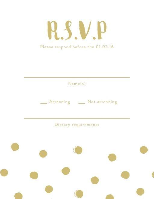 Spot - RSVP Cards