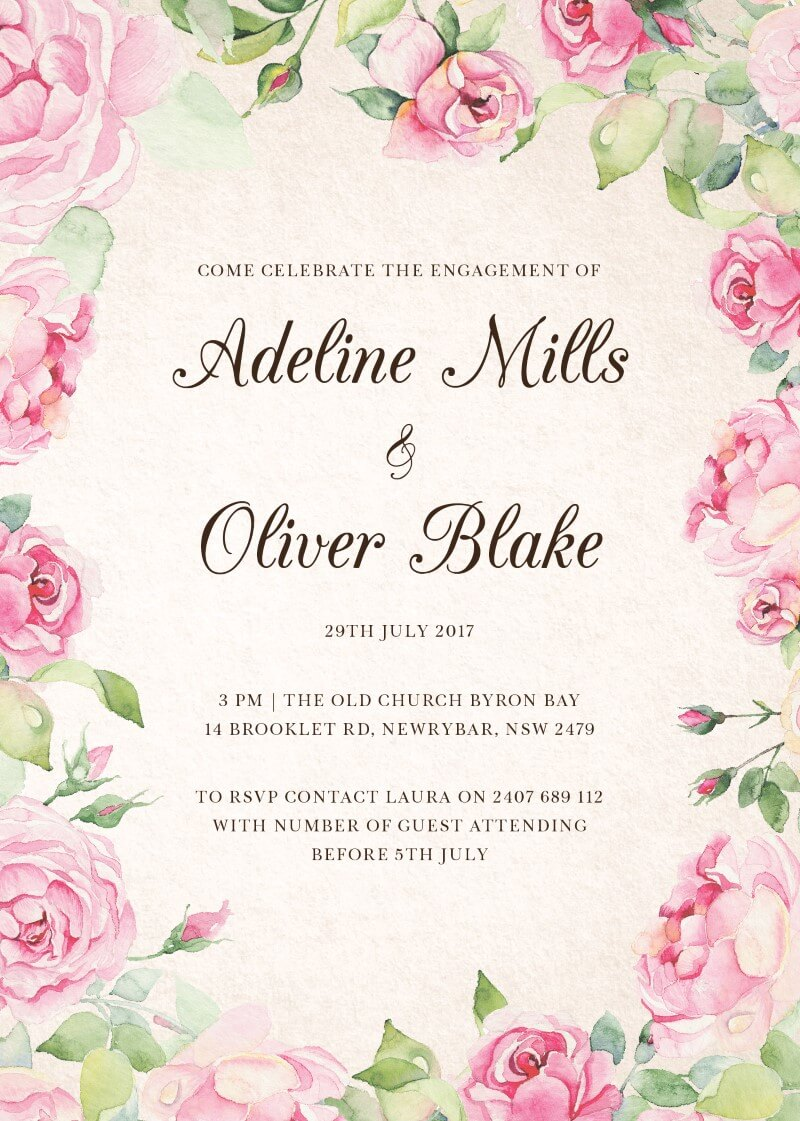 Good Spring - Engagement Invitations