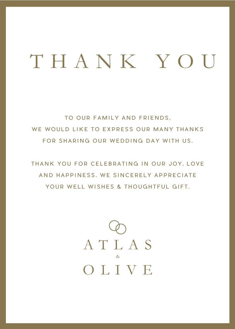 Atlas - Thank You