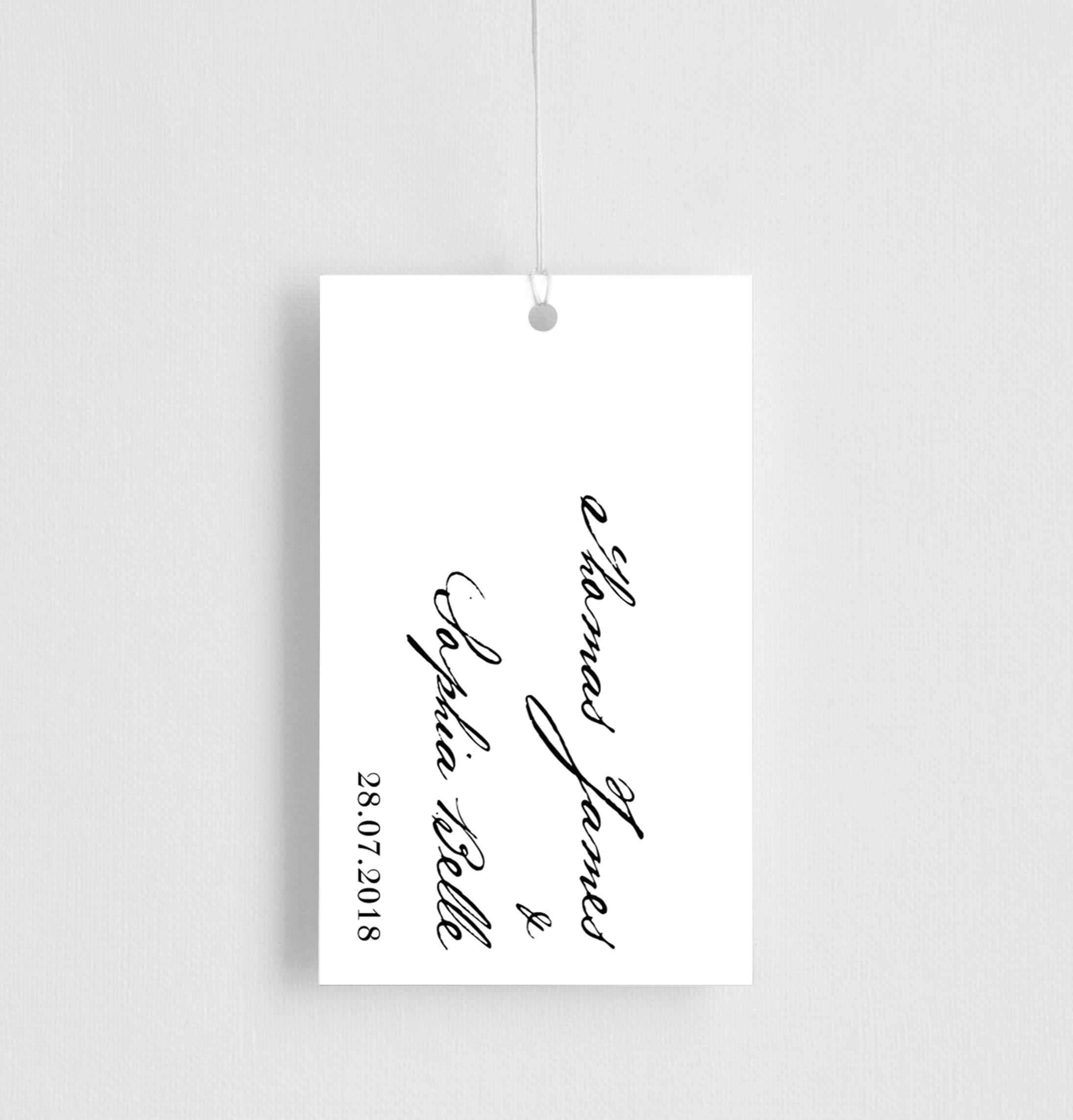 Simple Script - Gift Tags
