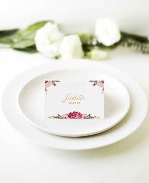 Garden Party - Place Cards