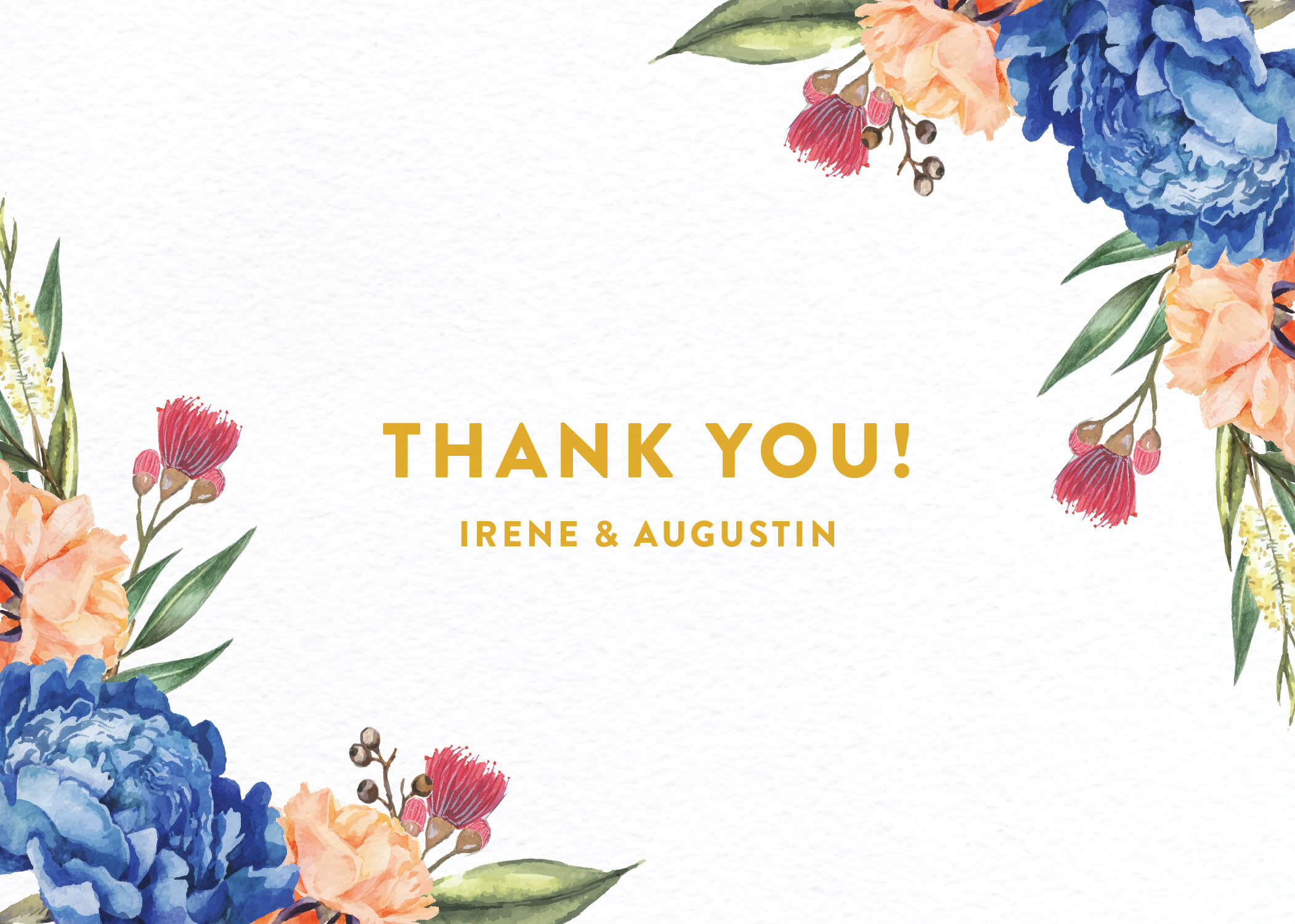 Garden Party - Thank You
