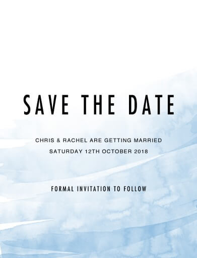 Riviera Save The Date - Save The Date