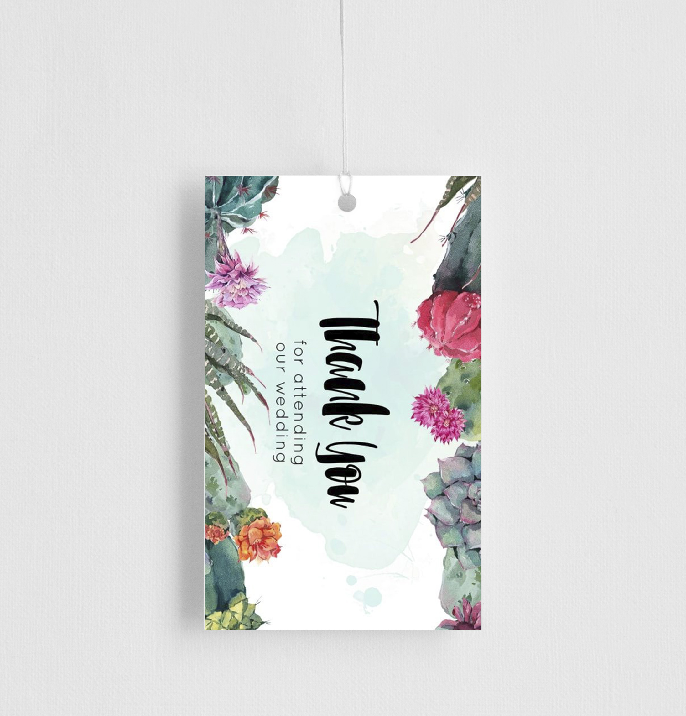 Cactus Hour - Gift Tags