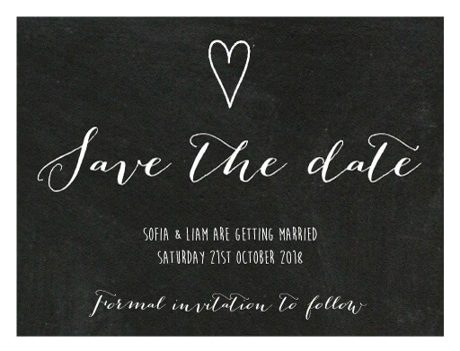 Love Arrows Save The Date - Save The Date