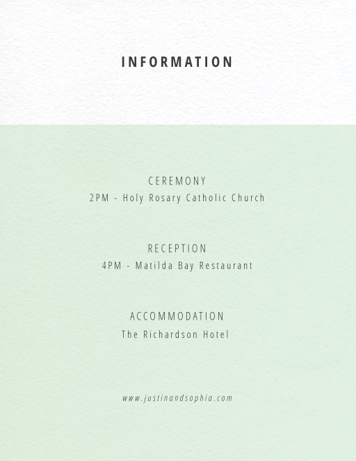Neapolitan Icecream - Information Cards