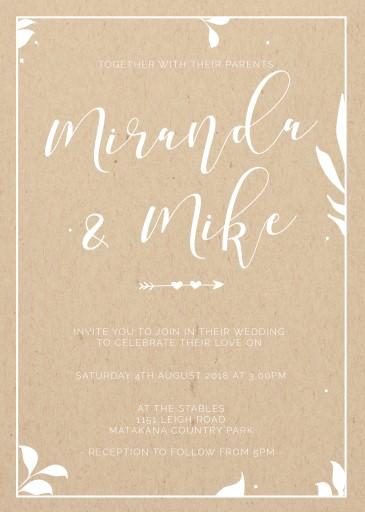 Follow Your Arrow Wedding Invitations - wedding invitations