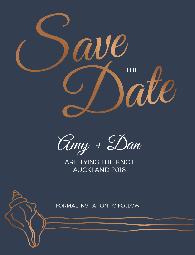 Copper Sands - Save The Date