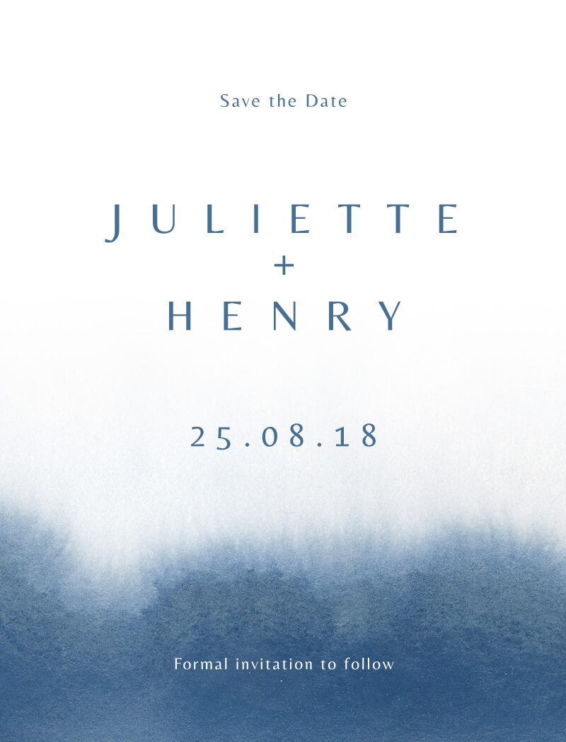 Deep Blue - Save The Date