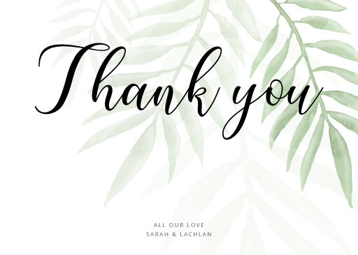 Forest Walk - Thank You Cards