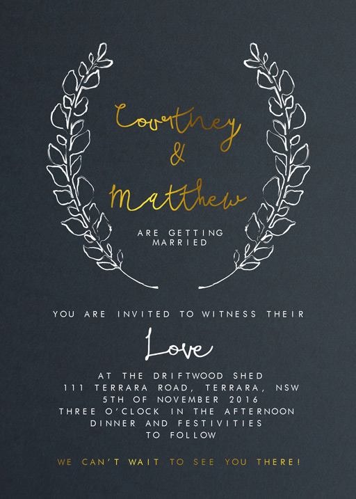 Competition Winner - Invitations